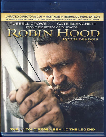 Robin Hood (Unrated Director s Cut Blu-ray/DVD Combo) (Blu-ray) (Bilingual) BLU-RAY Movie