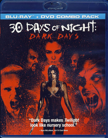 30 Days of Night - Dark Days (Two-Disc Blu-ray/DVD Combo) (Blu-ray) BLU-RAY Movie