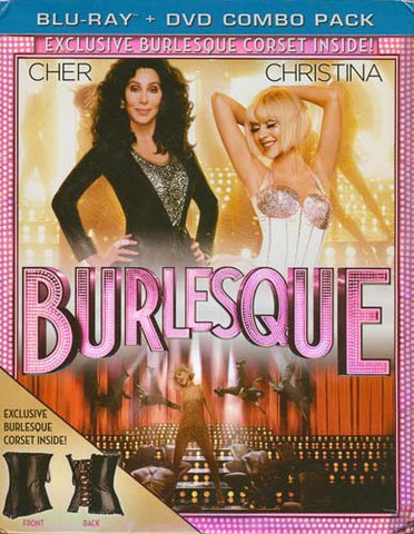 Burlesque (with Exclusive Corset) (DVD+Blu-ray Combo) (Blu-ray) (Boxset) BLU-RAY Movie