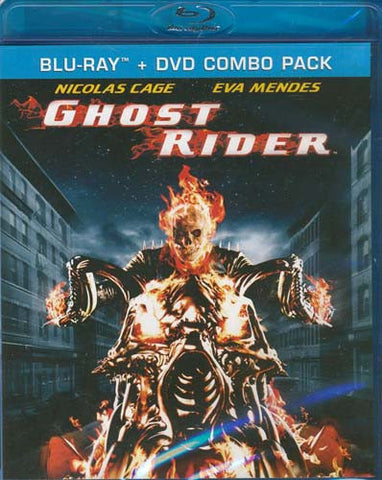 Ghost Rider (DVD+Blu-ray Combo) (Blu-ray) BLU-RAY Movie