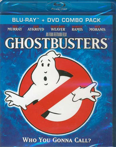 Ghostbusters (DVD+Blu-ray Combo) (Blu-ray) BLU-RAY Movie