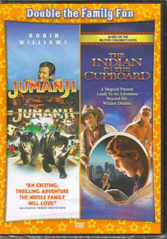Jumanji / The Indian in the Cupboard (Double Feature) DVD Movie