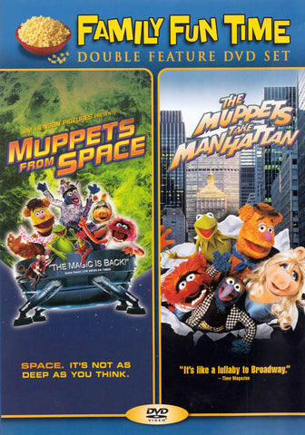 Muppets From Space and The Muppets Take Manhattan (Family Fun Time Double Feature) DVD Movie