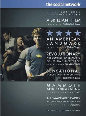 The Social Network (Two-Disc Collector s Edition) DVD Movie
