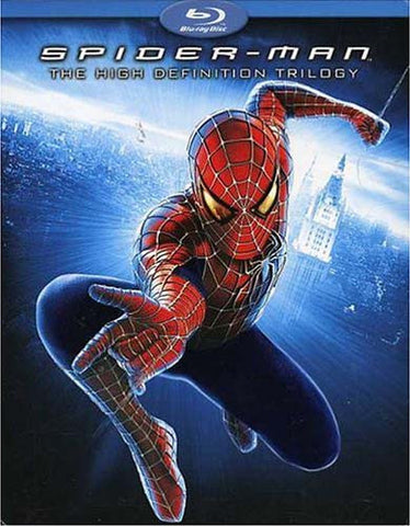 Spider-Man The High Definition Trilogy (Spider-Man 1-3) (Blu-ray) (Boxset) BLU-RAY Movie
