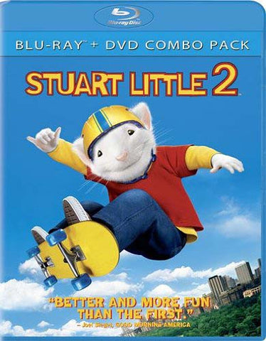 Stuart Little 2 (Two-Disc Blu-ray/DVD Combo) (Blu-ray) BLU-RAY Movie