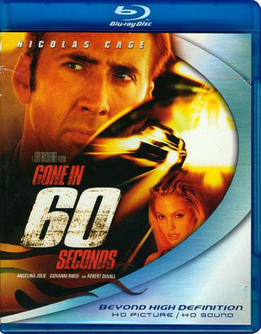 Gone in 60 Seconds (Blu-ray) BLU-RAY Movie