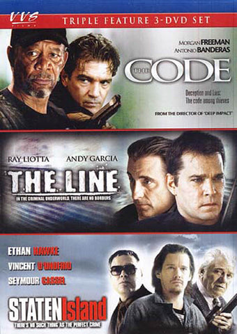 The Code / The Line / Staten Island (Keepcase) DVD Movie