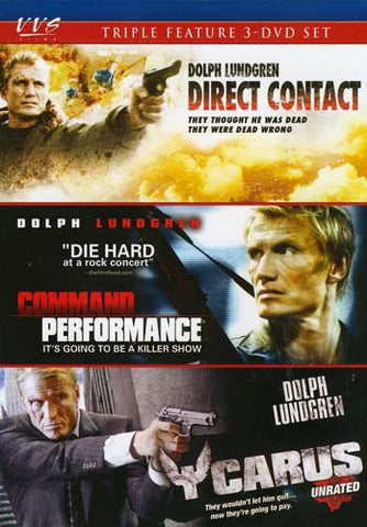 Direct Contact / Command Performance / Icarus (Triple Feature) DVD Movie
