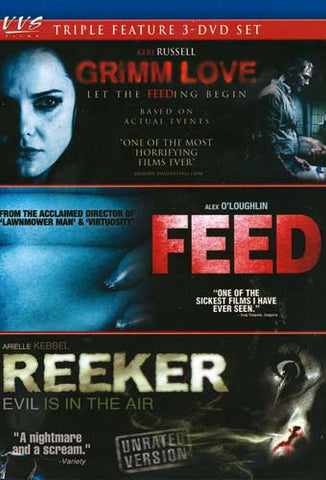 Grimm Love / Feed / Reeker (Triple Feature) (Boxset) DVD Movie