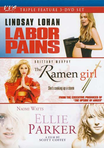 Labor Pains / The Ramen Girl / Ellie Parker (Triple Feature) (Keepcase) DVD Movie