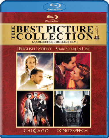 The Best Picture Collection (Chicago/English Patient/King s Speech/Shakespeare in Love)(Blu-Ray) BLU-RAY Movie