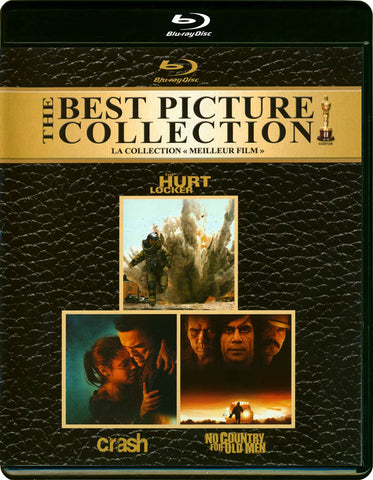 The Best Picture Collection (Crash / The Hurt Locker / No Country for Old Men) (Blu-ray) BLU-RAY Movie