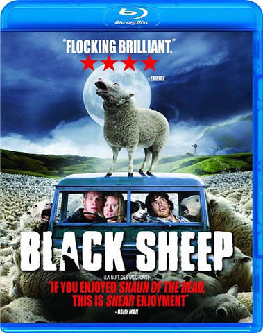 Black Sheep (Unrated) (Bilingual) (Blu-Ray) BLU-RAY Movie