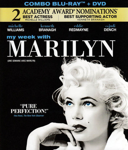 My Week with Marilyn (DVD+Blu-ray Combo) (Bilingual) (Blu-ray) BLU-RAY Movie
