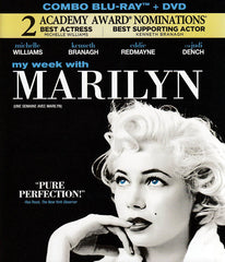 My Week with Marilyn (DVD+Blu-ray Combo) (Bilingual) (Blu-ray)