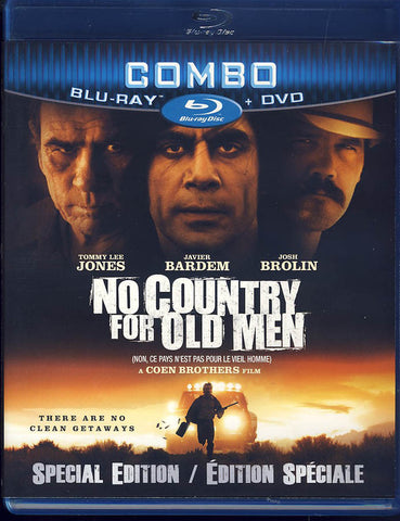 No Country For Old Men: Special Edition (Blu-ray+DVD) (Bilingual) (Blu-ray) BLU-RAY Movie