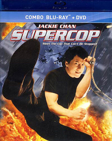 Supercop (Blu-ray + DVD) (Blu-ray) BLU-RAY Movie