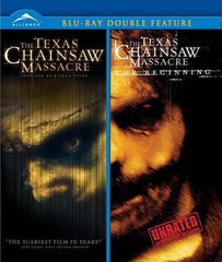 Texas Chainsaw Massacre / Texas Chainsaw Massacre: The Beginning (Double Feature) (Blu-ray)