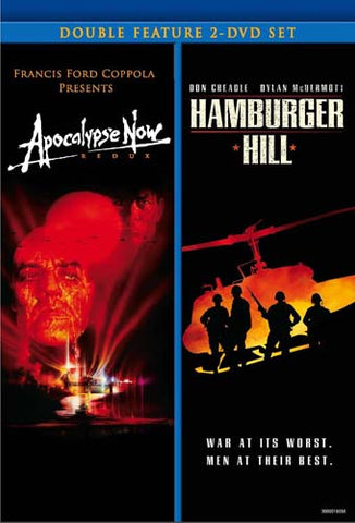 Apocalypse Now: Redux / Hamburger Hill (Double Feature) (Boxset) DVD Movie
