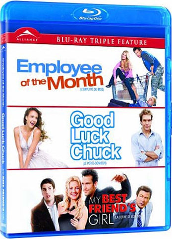 Employee of the Month / Good Luck Chuck / My Best Friend s Girl (Bilingual) (Blu-ray) BLU-RAY Movie