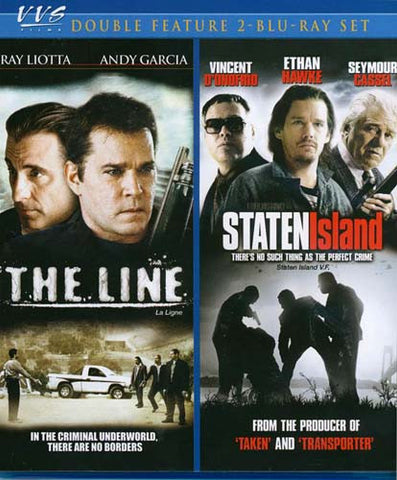 The Line / Staten Island (Blu-ray) BLU-RAY Movie