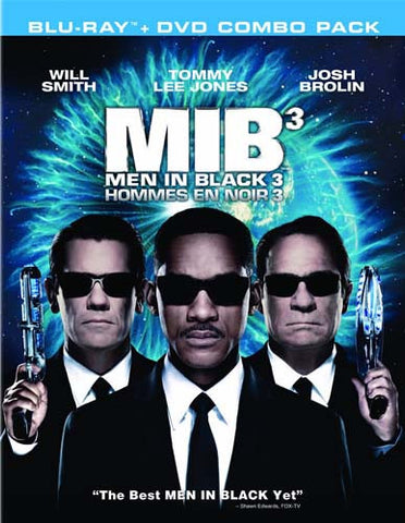 Men In Black 3 (Blu-ray + DVD Combo Pack)(bilingual)(Blu-ray) BLU-RAY Movie