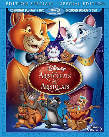 The Aristocats (Special Edition)(Blu-ray Combo Pack)(Blu-ray) BLU-RAY Movie
