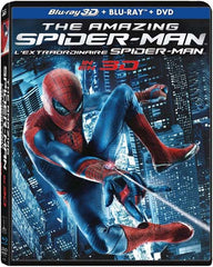 The Amazing Spider-Man 3D (Blu-ray 3D+Blu-ray+DVD) (Bilingual) (Boxset) (Blu-ray)