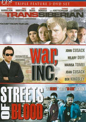 Transsiberian / War Inc. / Streets of Blood (Triple Feature) (Boxset)