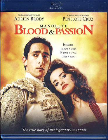 Manolete - Blood & Passion (Blu-ray) BLU-RAY Movie