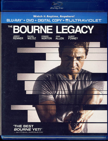 The Bourne Legacy (Blu-ray + DVD + Digital Copy + UltraViolet) (Blu-ray) BLU-RAY Movie