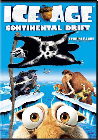 Ice Age 4 - Continental Drift (Bilingual) DVD Movie