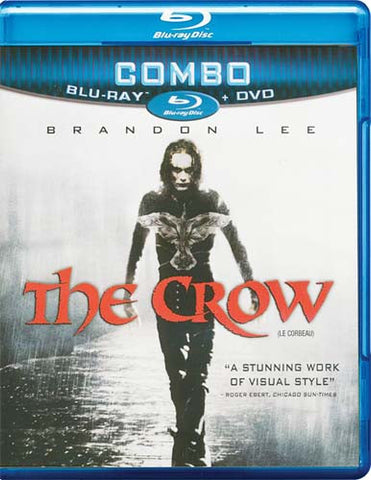 The Crow (DVD+Blu-ray Combo) (Blu-ray) (Bilingual) BLU-RAY Movie