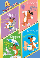 Kipper 4 Feature Set (Friendship Tails / Imagine That! / Water Play / Kipper Helps Out)