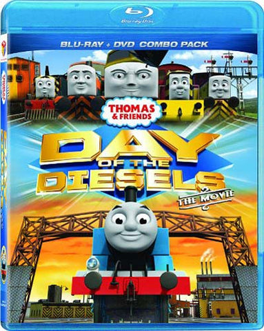 Thomas & Friends - Day of the Diesels (Blu-ray/DVD Combo) (Blu-ray) BLU-RAY Movie