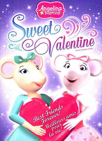 Angelina Ballerina - Sweet Valentine(Bilingual) DVD Movie