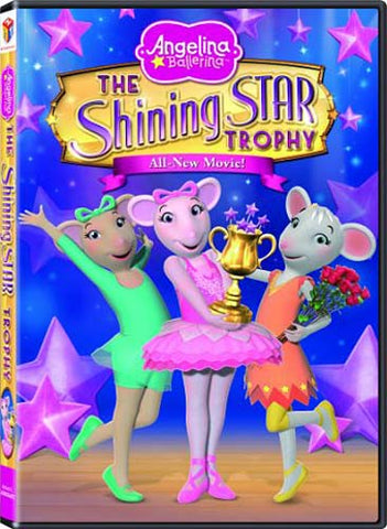 Angelina Ballerina - The Shining Star Trophy(Bilingual) DVD Movie