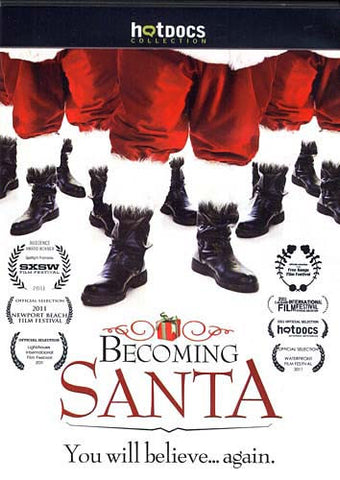 Becoming Santa DVD Movie