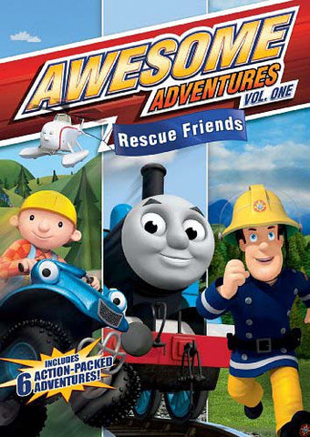 Awesome Adventures - Rescue Friends Vol. 1 DVD Movie