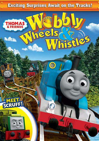 Thomas & Friends - Wobbly Wheels & Whistles DVD Movie