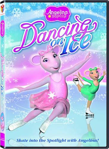 Angelina Ballerina - Dancing on Ice(Bilingual) DVD Movie