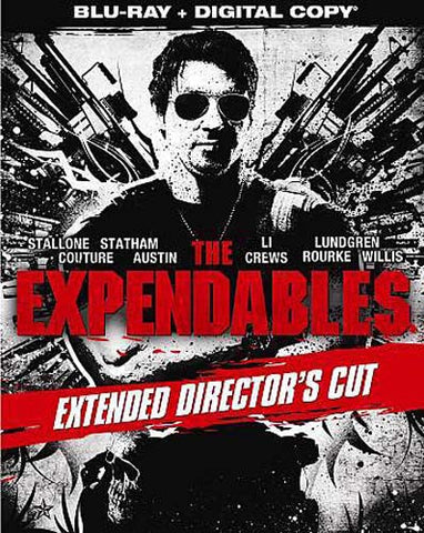 The Expendables (Extended Director's Cut) (Blu-ray) (Slipcover) BLU-RAY Movie