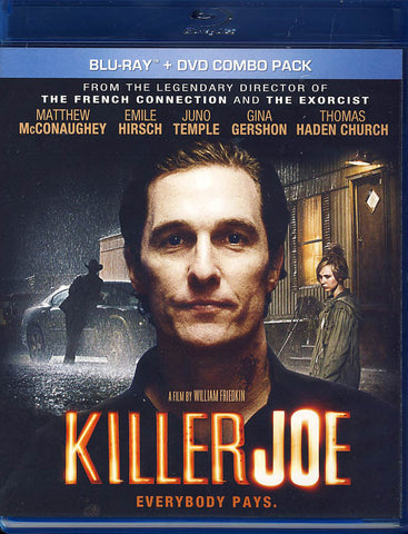 Killer Joe (Blu-ray + DVD Combo) (Blu-ray) BLU-RAY Movie