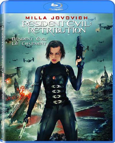 Resident Evil: Retribution (Blu-ray) BLU-RAY Movie