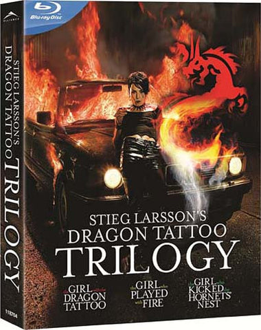 Stieg Larsson Dragon Tattoo Trilogy (Blu-ray) (English Dubbed Version) BLU-RAY Movie