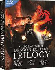 Stieg Larsson Dragon Tattoo Trilogy (Blu-ray) (English Dubbed Version)