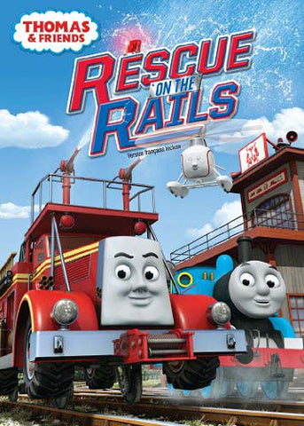 Thomas And Friends: Rescue On The Rails DVD Movie