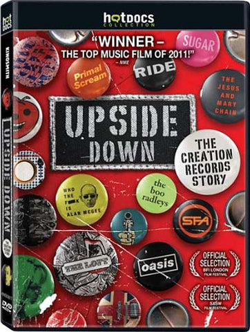 Upside Down: The Creation Records Story DVD Movie