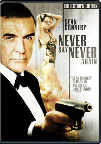 Never Say Never Again (Collector's Edition) DVD Movie